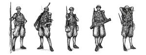 Random Soldiers by torei