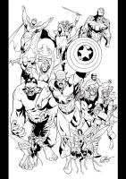 Avengers assemble by JoshTempleton