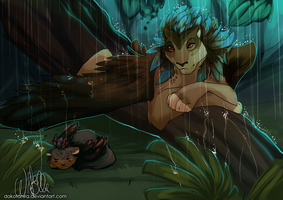 Rainy morning by WildEllie