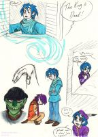 Some More Gorillaz Prince and Pauper Doodles by Strabius