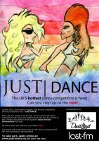 Just Dance competition poster by simayiboy
