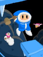 Ice Climbers by JOSHDILISI