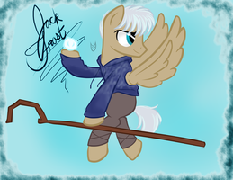 Jack Frost Pony by CartoonOwl