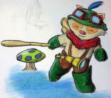 teemo! by WoWLinry