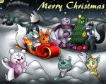 Merry Christmas 2011 by PokemonMasta