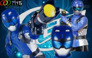 Tokumei Sentai Go-Busters: Blue Buster by OOO19415