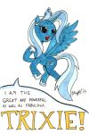 The Great and Fabulous Trixie by Cartoon-Eric