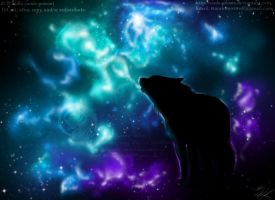 Heavenly Wolf Star by soulspoison