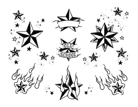 nautical star flash page 01 bw by deadloser13