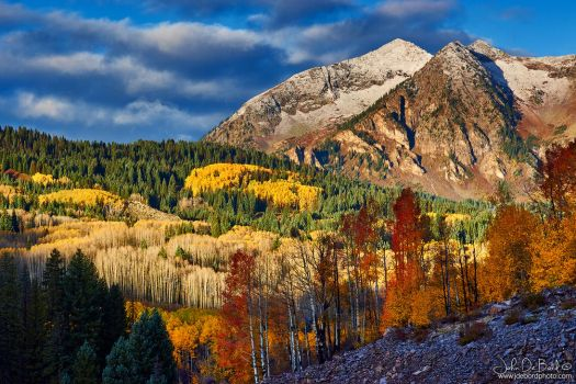 East Beckwith In Autumn by kkart