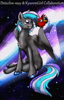 [Collab] Kyu and the Maycaw by KyuremGirl