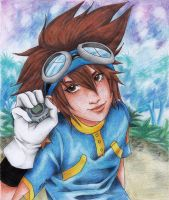 Digimon - Taichi by Mad-Hatter----X