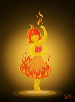 Flame Princess by Znapple
