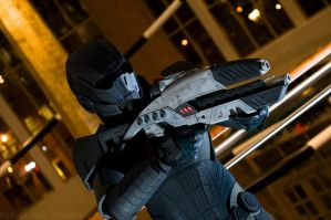 Mass Effect 2 N7 Armor by prettyfloralbonnet