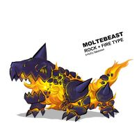 Moltebeast by k-hots