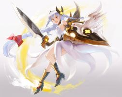 Puzzle and Dragons Valkyrie by kamipallet
