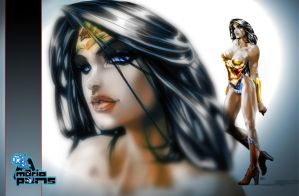 WP 2 Mario Pons Wonder Woman by MarioPons