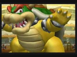 Bowser Wins In Sluggers by silverhammerbro