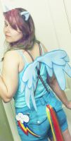 Rainbow Dash Gijinka Cosplay by khatt