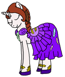 -Comish- Writer Gala Dress by RadioactiveSkunk