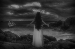 Come Back to Me 'b and w' by mickaylal