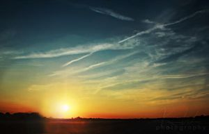 1st Sunset Pic of Summer 2011 by KeelyWeisPhotography