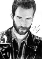 Adam Levine by lohziviani