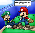 ouch... by Nintendrawer