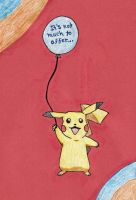 Pikachu Get-Well Card by hiddenxmajesty