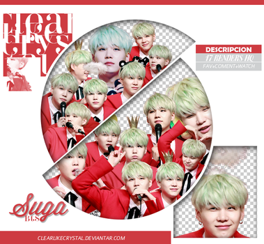 #004 | Pack Png | Suga | BTS by clearlikecrystal