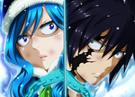 Gruvia - heart covered in the ice / FT 498 by Mirajanee