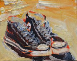 Converse All Stars /yellow by Timdockrill
