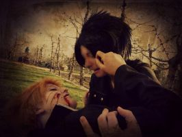 We /try/ to be dramatic. by mindless-cosplay