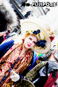 Mardi Gras Lady by On-Purpose