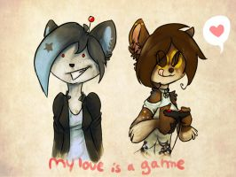 my love is a game by Imalou