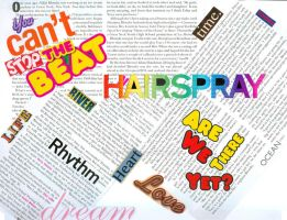 Hairspray Typography by KEEPitSIMPLE-Stupid