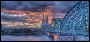 The Kolner Sunset by GuadianAngel