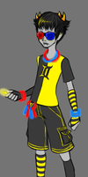 RAVEstuck: Sollux by likeablur