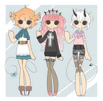 { Random Adopts! }~ [Closed] by otowei