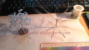 Tree of wire 2 wip by Dragoonsa
