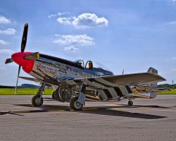 P-51D Mustang in HDR by Ryan-Warner