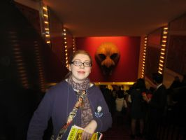 Me at the Lion King theatre 1 by purplekatz93