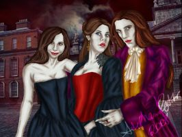 Trio of the Coven by Laurelindorenae