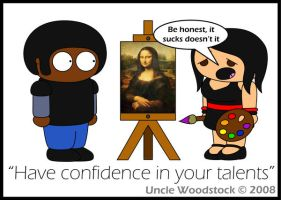 Confidence by UncleWoodstock