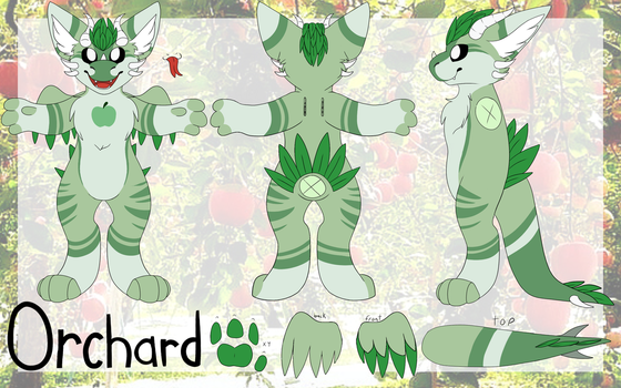 Orchard Ref 2016! by SilverC236