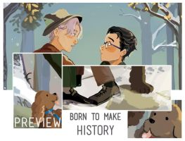 YoI Zine Preview!! by cambrasine