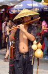 the flute player by beloutte