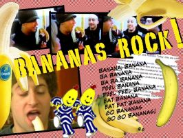 Bananas Rock - Joe and Pierre by VonCroy360
