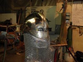 early helm by BrianBrownArmoury