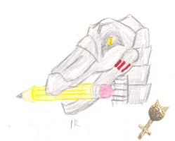 Doodle: Iron Raptor by Catwoman69y2k